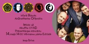 Albums CITĀ© tikai Latvijas Pasta nodaļās no14.05.-14.06.